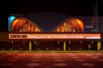 Dortmund leuchtet Orange